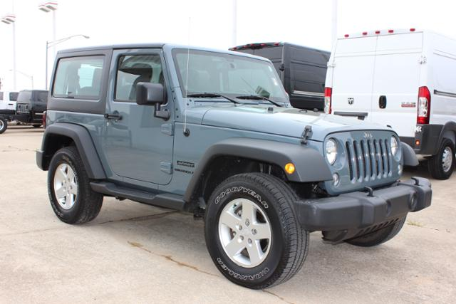 Used Jeep Wrangler 4WD 2dr Sport