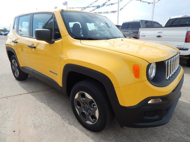 New Jeep Renegade 4WD 4dr Sport
